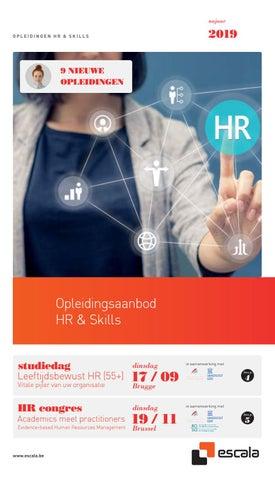Escala opleidingsaanbod HR & skills Vlaanderen najaar 2019
