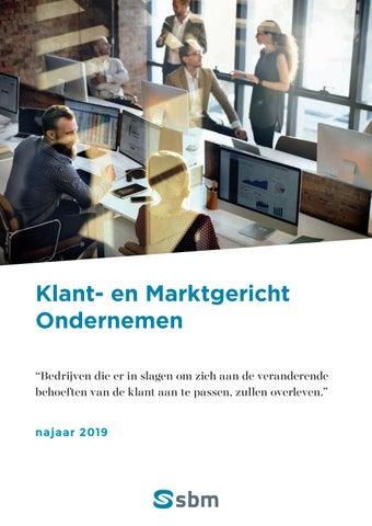 SBM Klant- en marktgericht ondernemen najaar 2019
