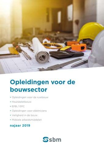 SBM opleidingen voor de bouwsector najaar 2019
