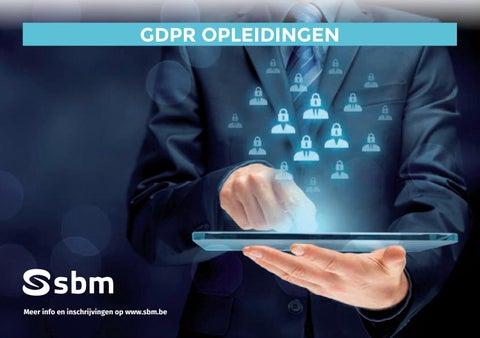 SBM GDPR opleidingen najaar 2019