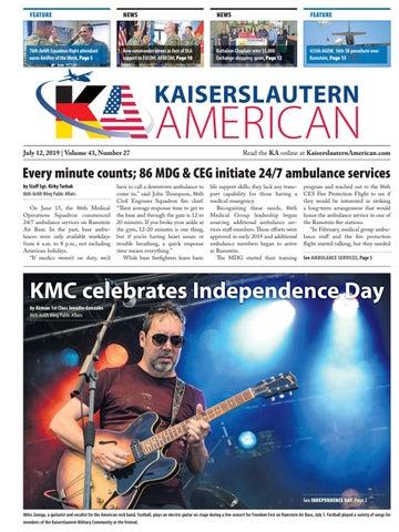 Kaiserslautern American, July 12, 2019