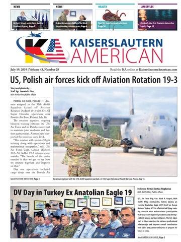 Kaiserslautern American, July 19, 2019