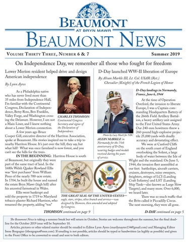 Beaumont News Summer 2019