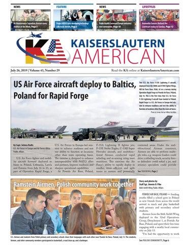 Kaiserslautern American, July 26, 2019