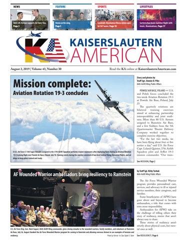 Kaiserslautern American, August 2, 2019