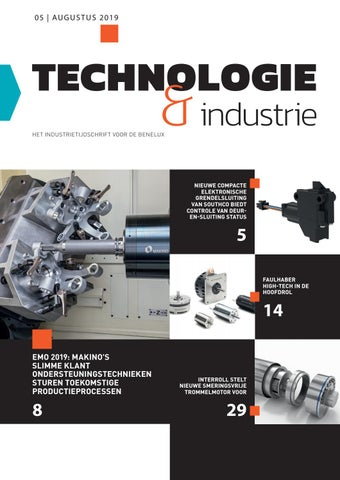 Technologie & Industrie | 05 - Augustus 2019