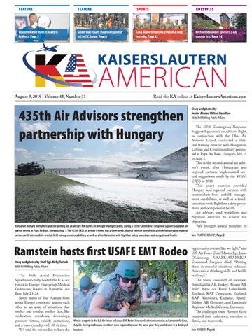 Kaiserslautern American, August 9, 2019