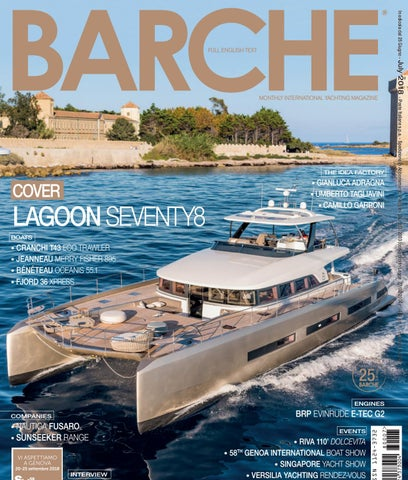BARCHE JUNE 2019 by INTERNATIONAL SEA PRESS SRL BARCHE issuu