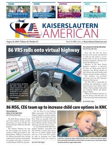 Kaiserslautern American, August 16, 2019