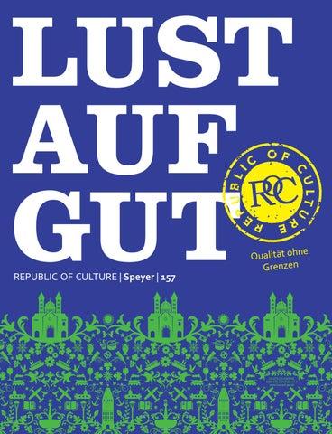 LUST AUF GUT Magazin | Speyer Nr. 157