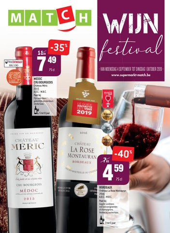Onze catalogue - Wijn festival bij Match