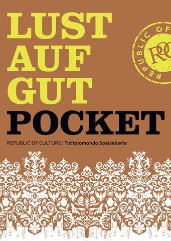 LUST AUF GUT Pocket | Tuttolomondo Speisekarte | 2019
