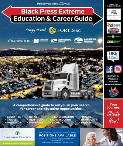 Black Press Extreme Education and Career Guide