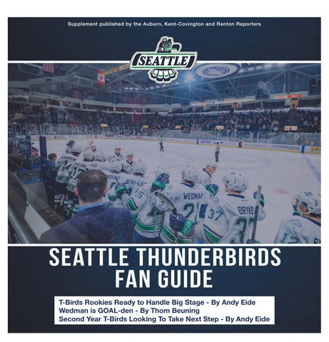 Seattle Thunderbirds Fan Guide 2019