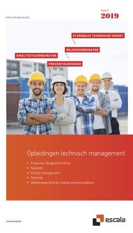 Escala opleidingen technisch management najaar 2019
