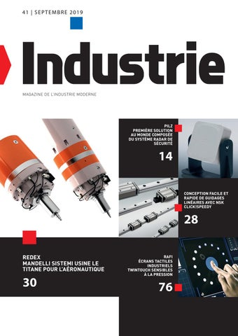 Industrie | 41 - Septembre 2019