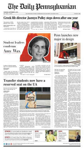 The Daily Pennsylvanian | The University of Pennsylvania's