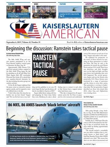 Kaiserslautern American, September 6, 2019