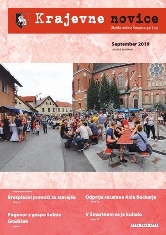 Krajevne novice - september 2019 (letnik 4, št. 6)