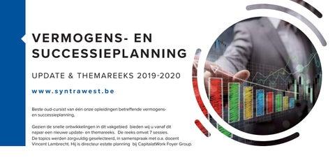 Syntra West Vermogens en successieplanning najaar 2019