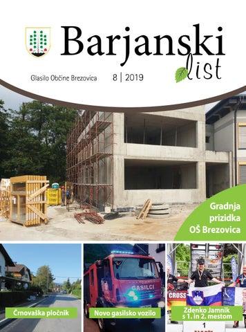 Barjanski list avgust 2019