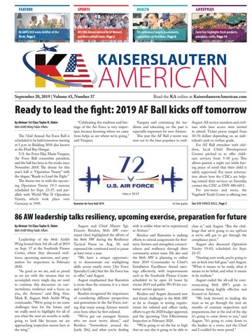 Kaiserslautern American, Sept. 20, 2019