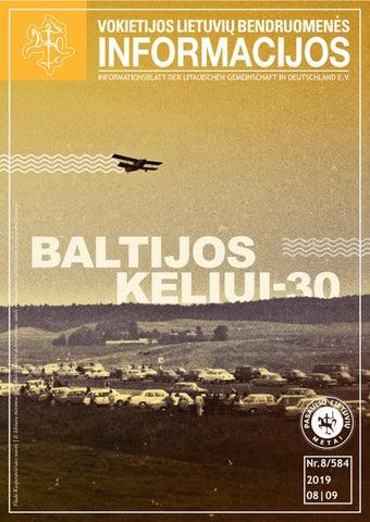 "VLB ""INFORMACIJOS"", 2019 M. RUGPJŪTIS/RUGSĖJIS NR. 8/584"