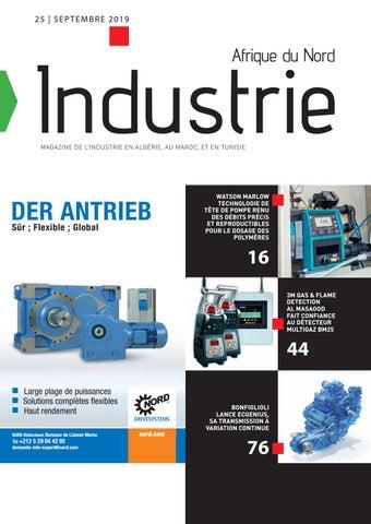 Industrie Afrique du Nord | 25 - Septembre 2019