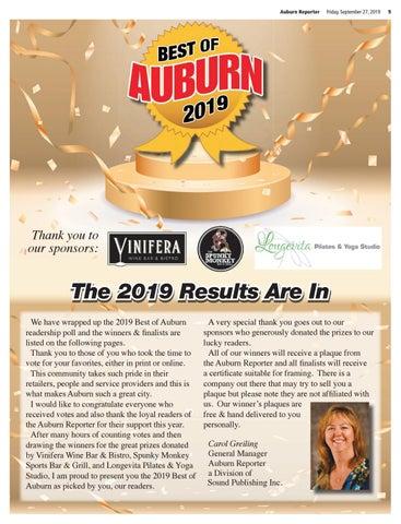 2019 Best of Auburn