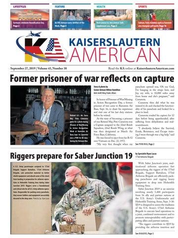 Kaiserslautern American, September 27, 2019