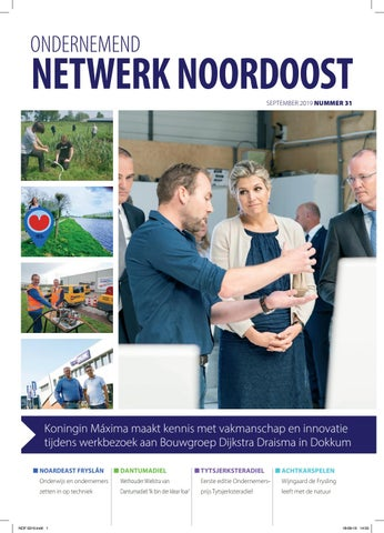 Ondernemend Netwerk Noordoost Oktober 2019