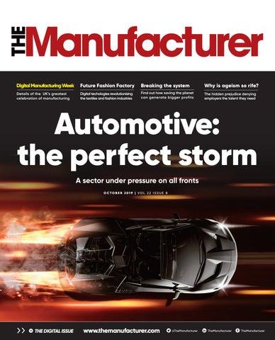 The Manufacturer October 2019