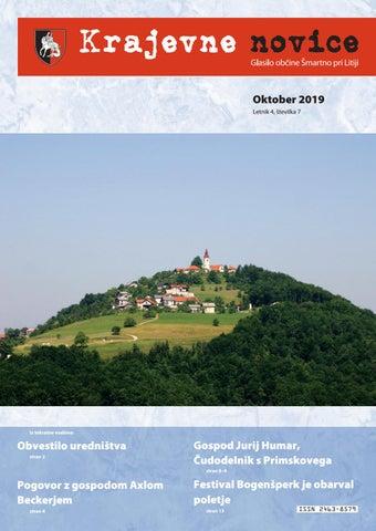 Krajevne novice - oktober 2019 (letnik 4, št. 7)