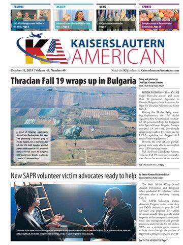 Kaiserslautern American, October 11, 2019