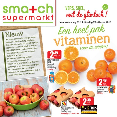 Een heel pak vitaminen voor de winter!