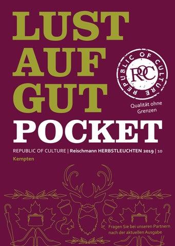 LUST AUF GUT Pocket | Reischmann HERBSTLEUCHTEN 2019 | Kempten