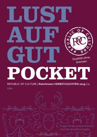 LUST AUF GUT Pocket | Reischmann HERBSTLEUCHTEN 2019 | Ulm