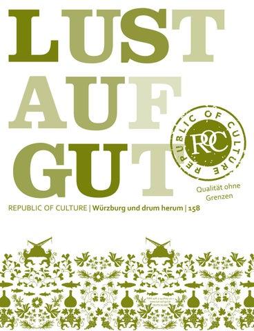 LUST AUF GUT Magazin | Würzburg Nr. 158