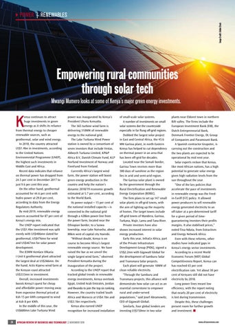 Empowering rural communities through solar tech