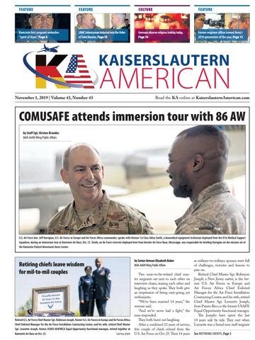 Kaiserslautern American, Nov. 1, 2019