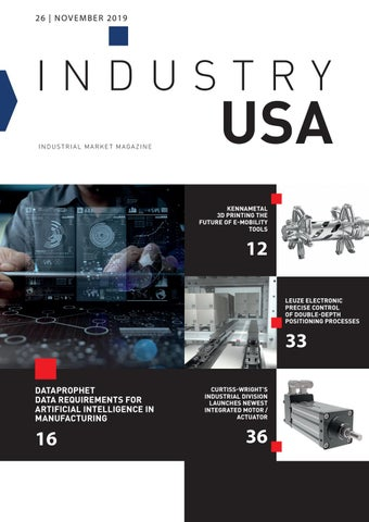 Industry USA | 26 - November 2019