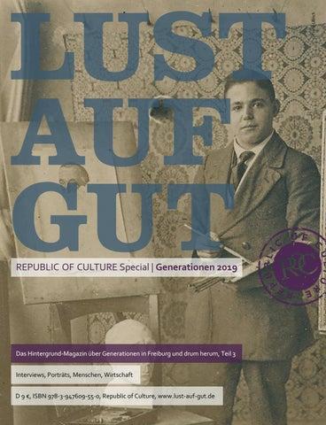 LUST AUF GUT Magazin | Special Generationen 2019
