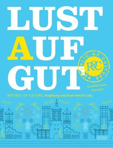 LUST AUF GUT Magazin | Augsburg Nr. 163