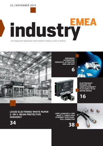 Industry EMEA | 22 - November 2019