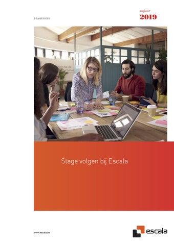 Escala stagegids najaar 2019