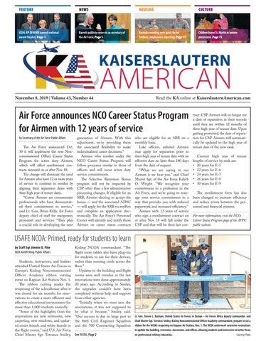 Kaiserslautern American, Nov. 8, 2019