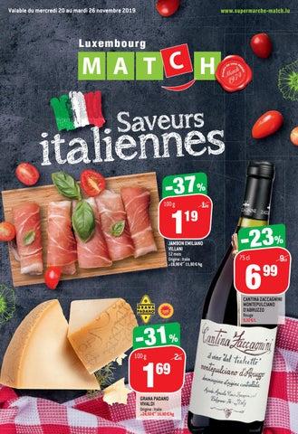 Saveurs italiennes !