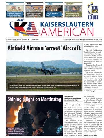 Kaiserslautern American, Nov. 15, 2019