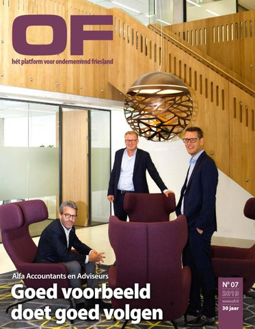 Ondernemend Friesland editie 7 november 2019