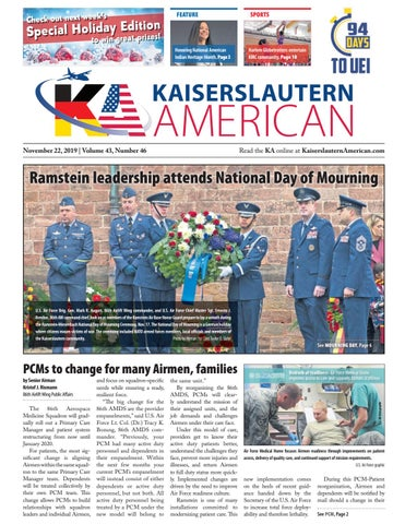 Kaiserslautern American, Nov. 22, 2019